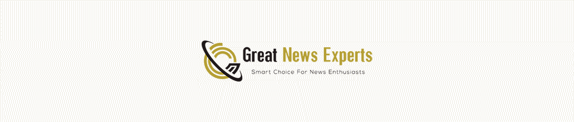 logo and tagline of logo of Great News Experts' website